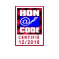 Notre site web respecte les principes de la charte honcode