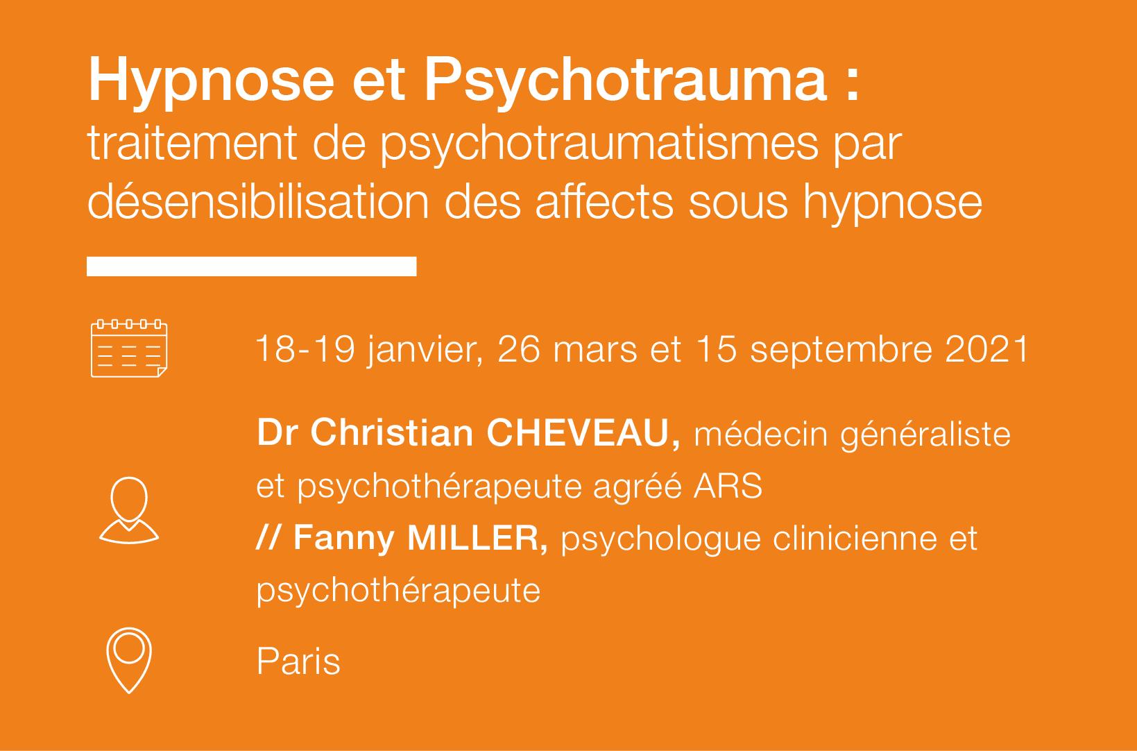 Seminaire Formation Hypnose-psychotrauma-IFH
