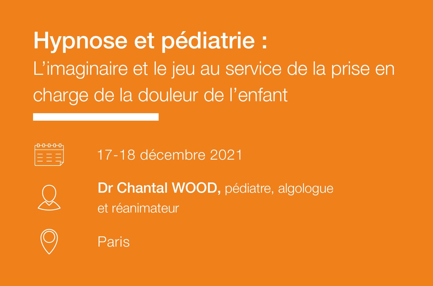 Seminaire Hypnose et pediatrie IFH