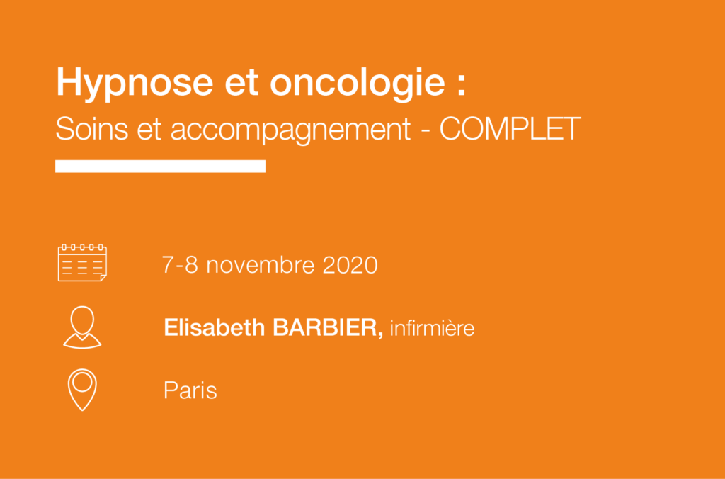 Seminaire formation Hypnose et oncologie - soins et accompagnement - IFH