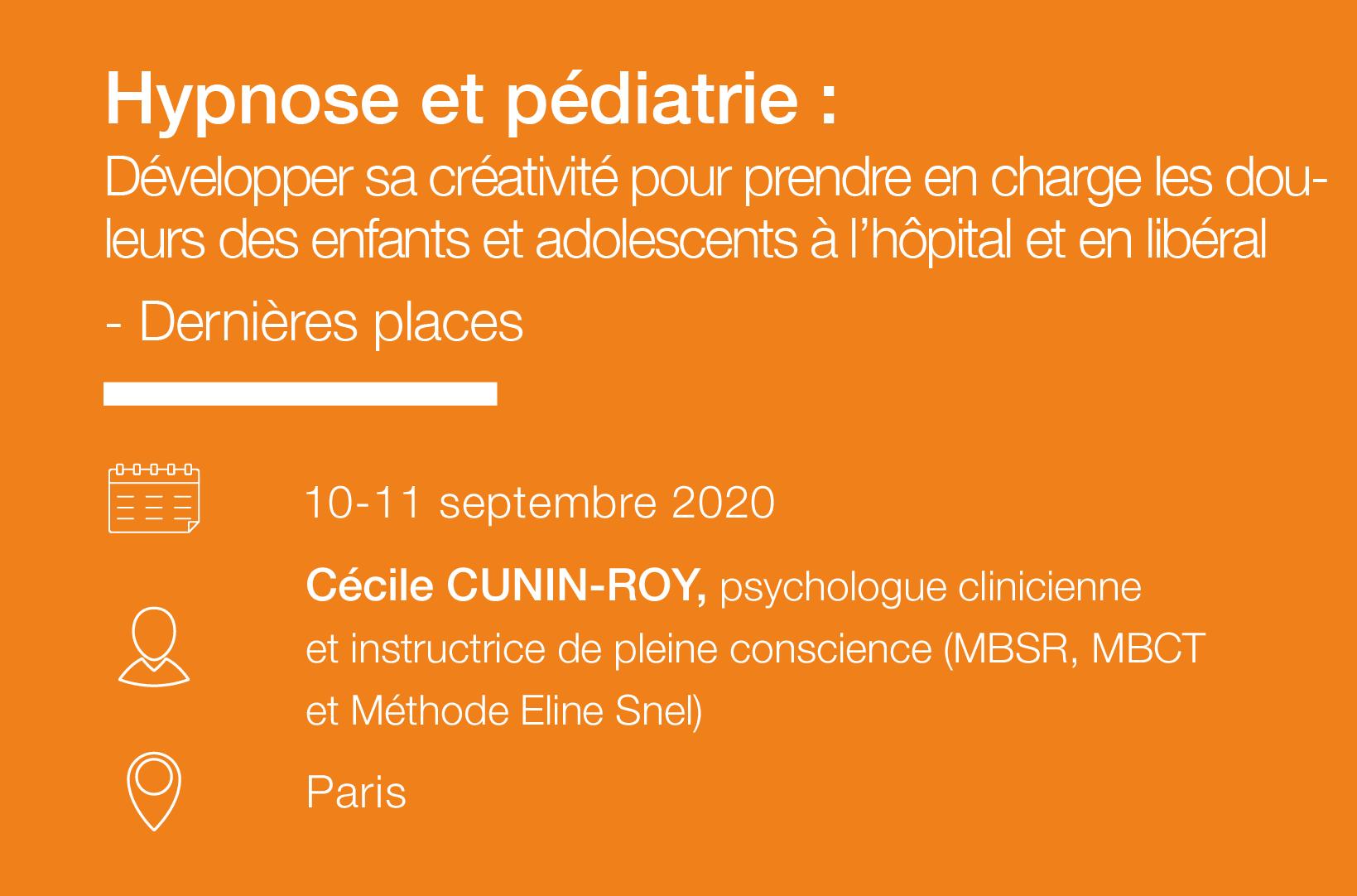 Seminaire Hypnose et pediatrie - IFH