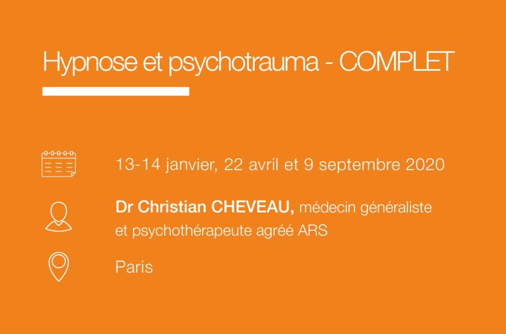 Seminaire Hypnose et psychotrauma - IFH